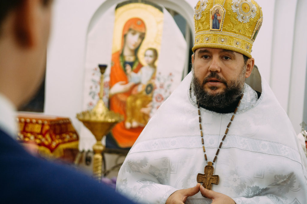 венчание в православном храме