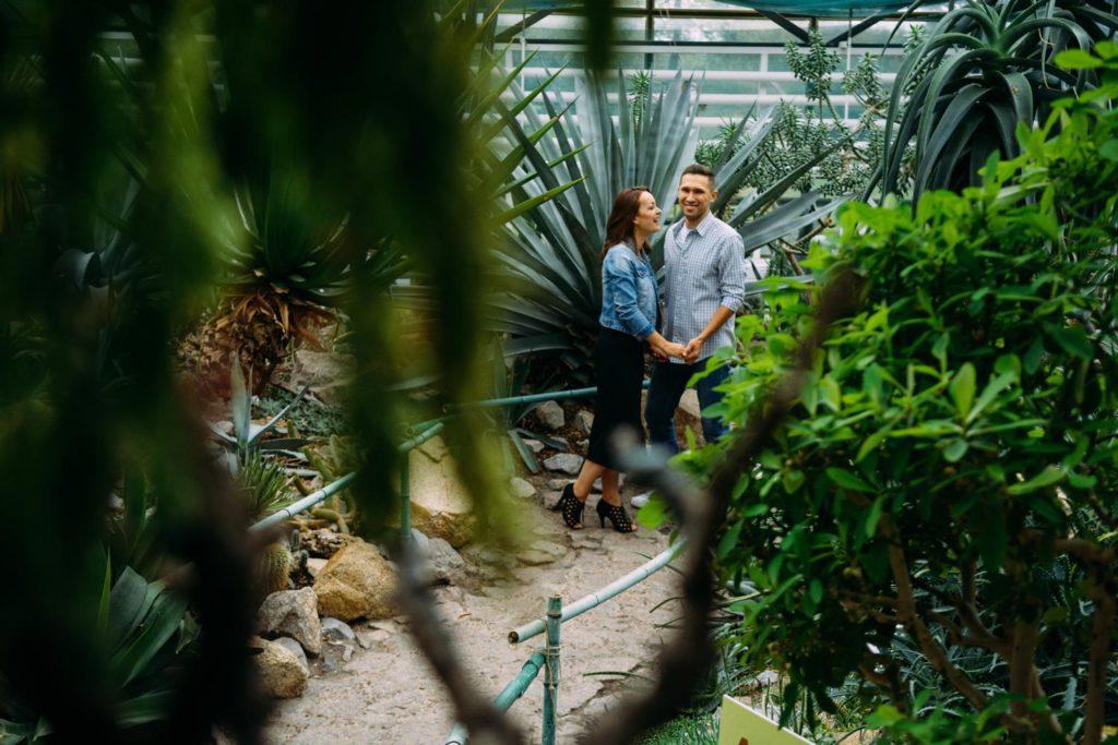 Love story оранжерея ботанический сад кактусы