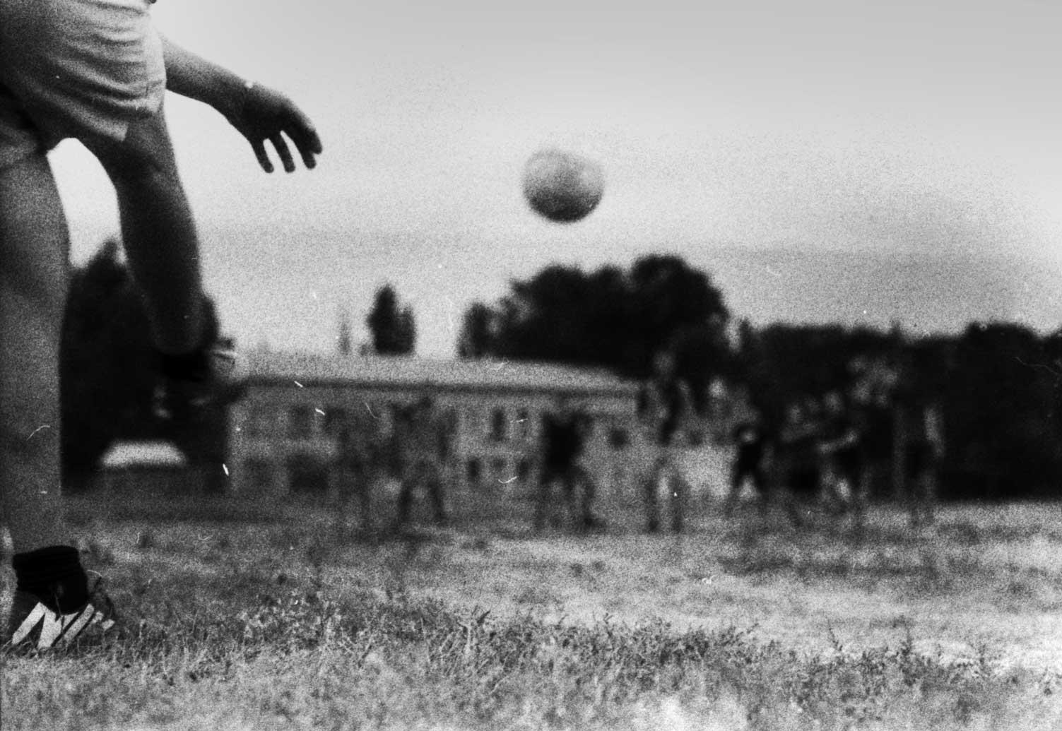 Футбол на пленочный фотоаппарат