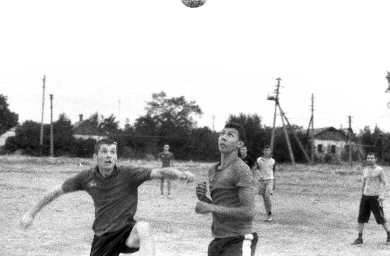 пленочная фотография футбол