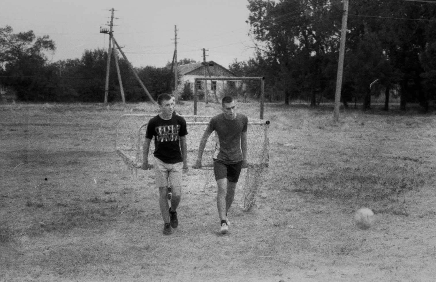 футбол в селе фотопленка