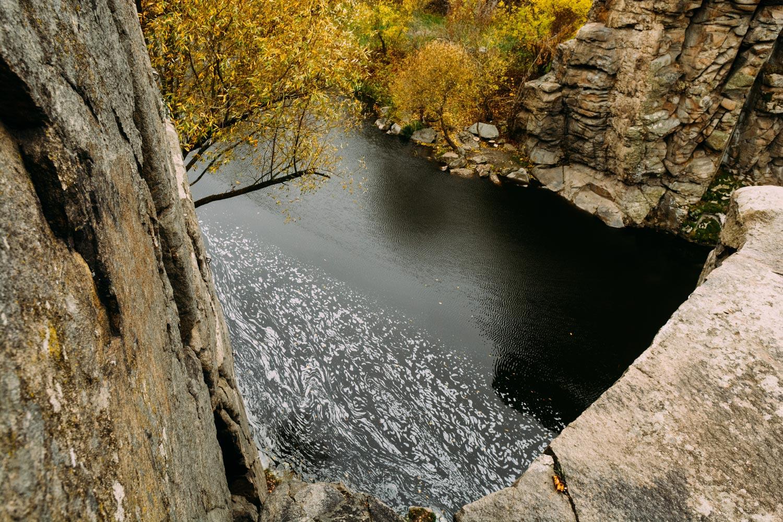 Каньон вБуках осень
