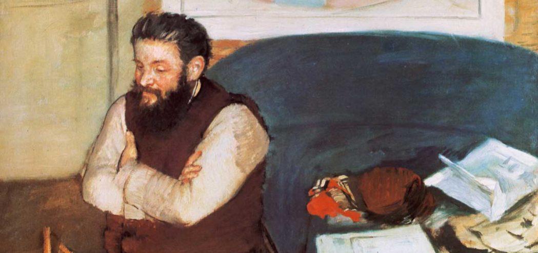Жанровый портрет Эдгара Дега