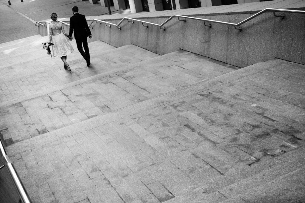 Свадебная фотосессия возле Николаевского костела
