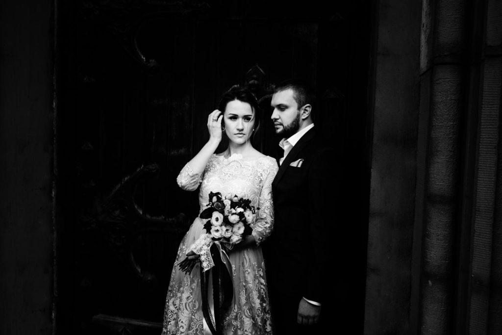 Свадьба возле Николаевского костела