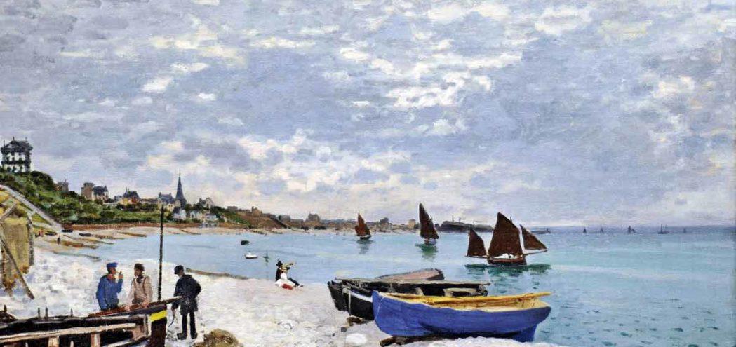 """""""Пляж в Сент-Адрес"""" 1867"""