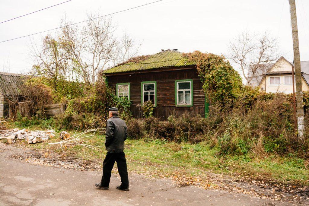 Деревянный дом Козелец
