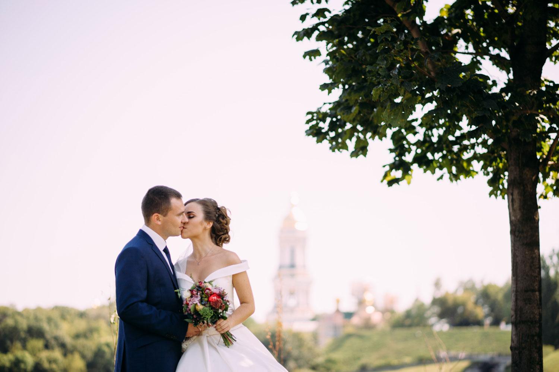 Свадебная фотосессия в Парке славы