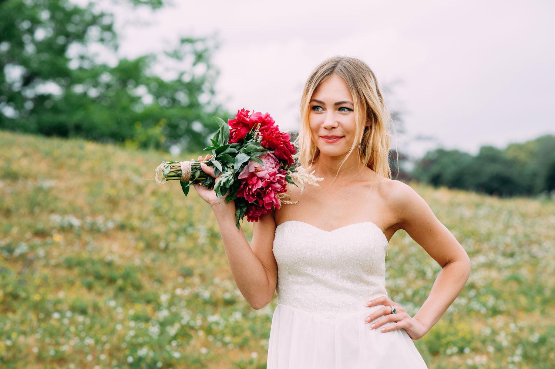 Свадьба в Киеве под дождем