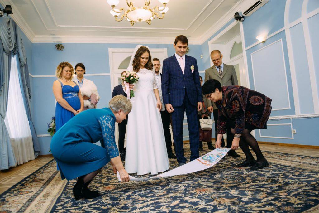 Шевченковский ЗАГС роспись церемония