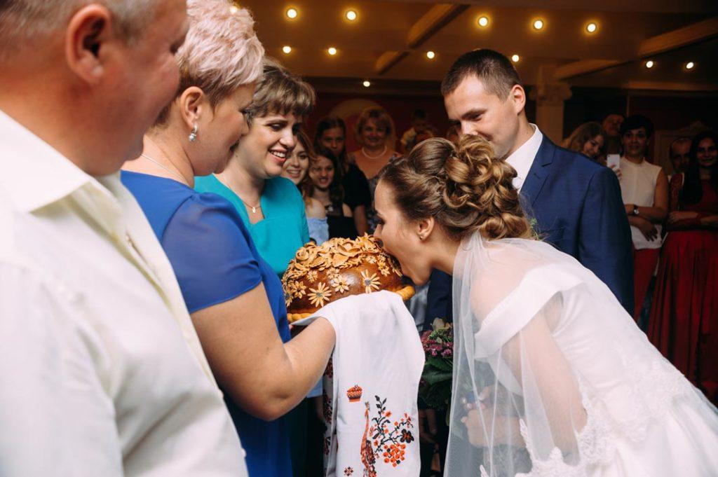 Свадебная традиция каравай